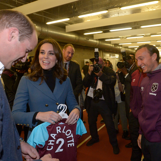 Hammers proud to host Royal visit