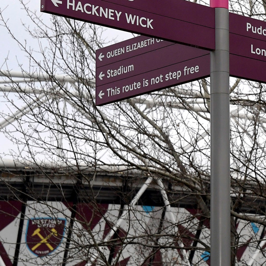 Important update to London Stadium walking routes