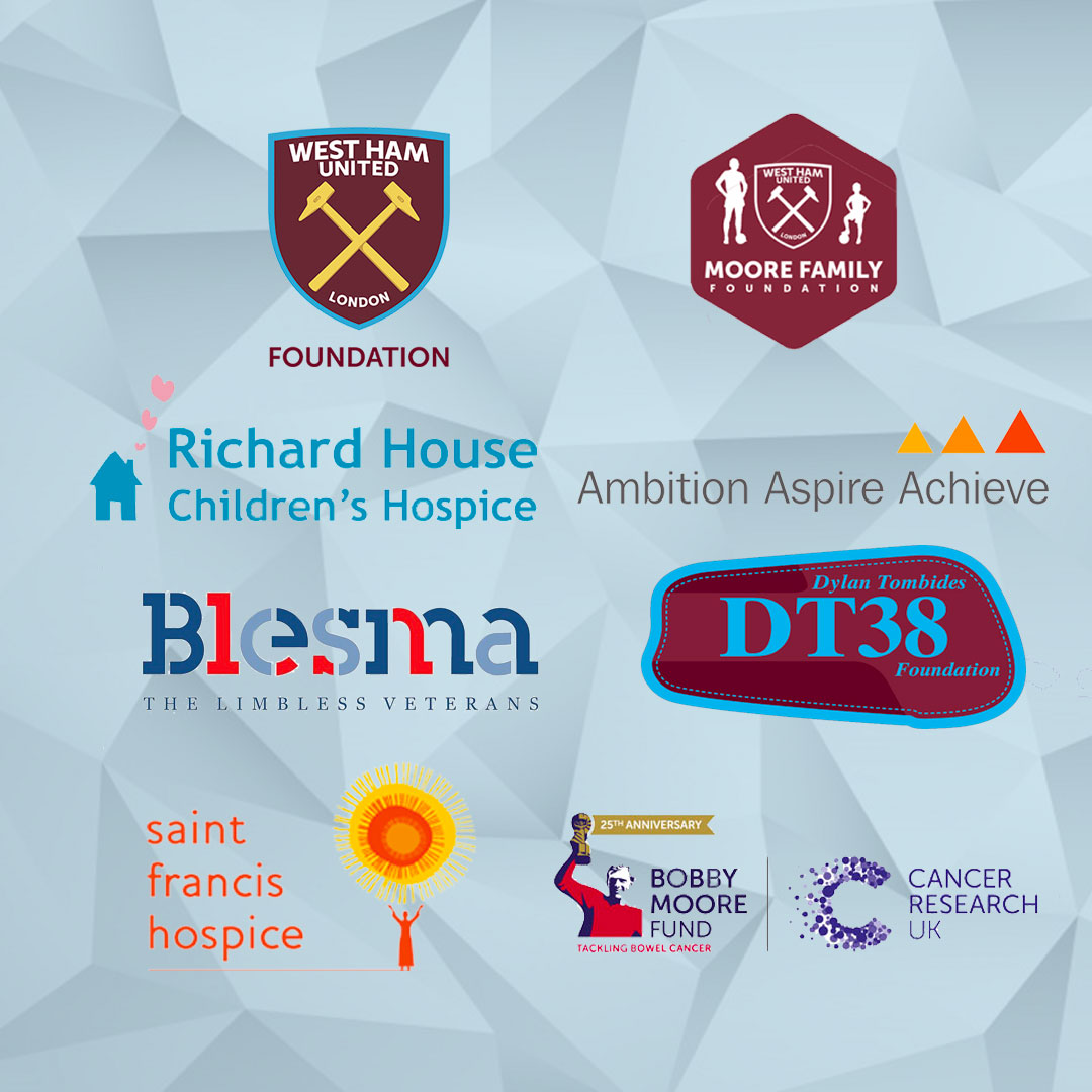 West Ham United's Foundation Charity Partners