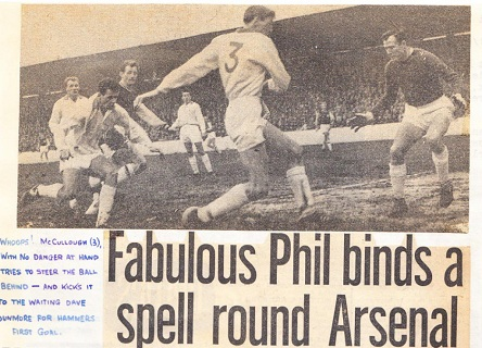 Phil Woosnam's performance left the press in awe