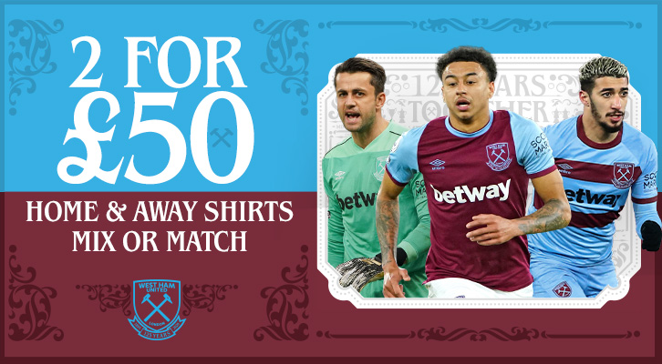 2 for £50 shirts