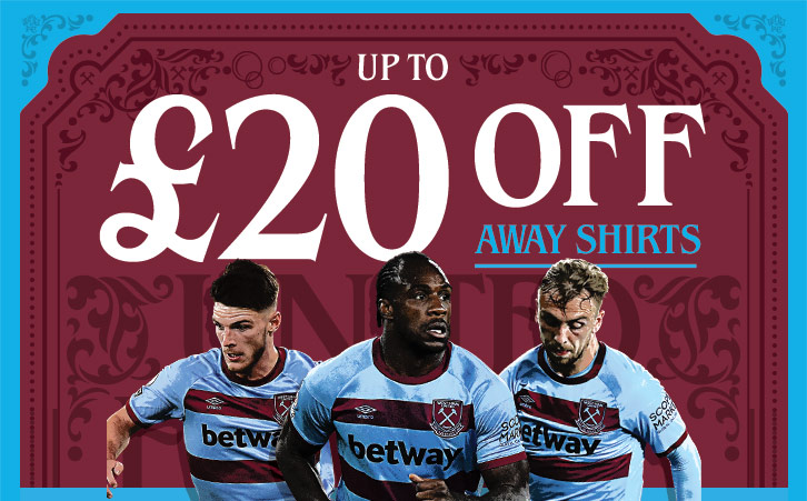 20% off away kits