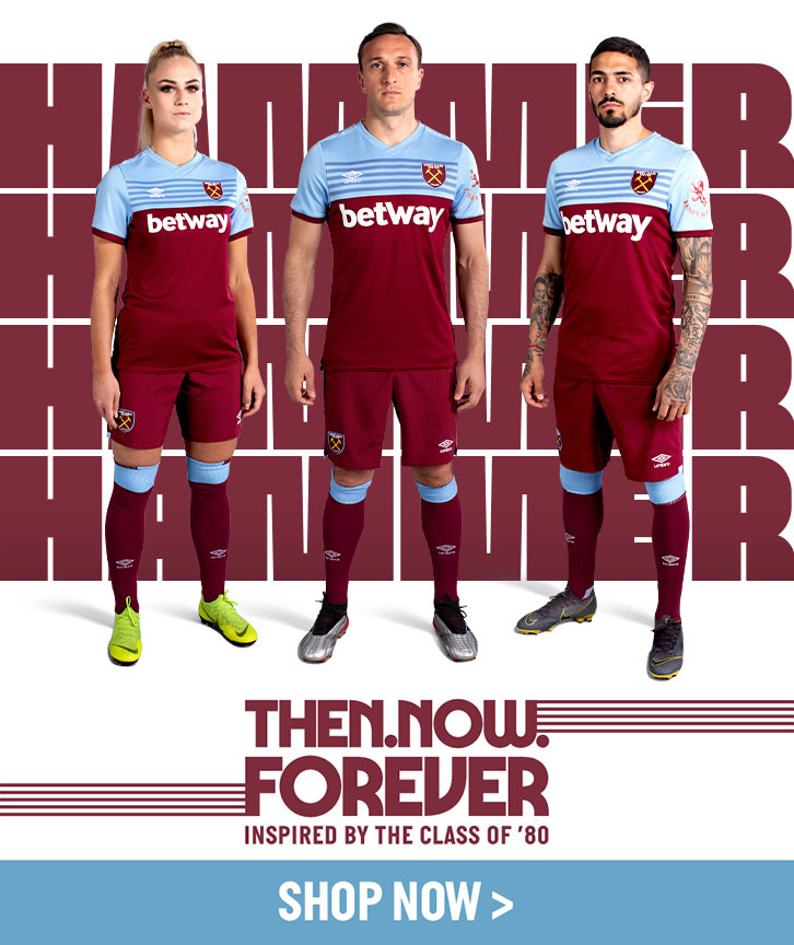 separation shoes e47d3 03b36 2019/20 kits in store now! | West Ham United