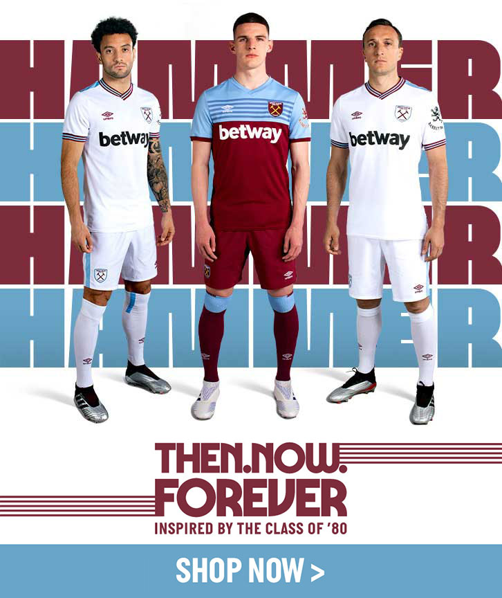 separation shoes af34a 576a7 2019/20 kits in store now! | West Ham United