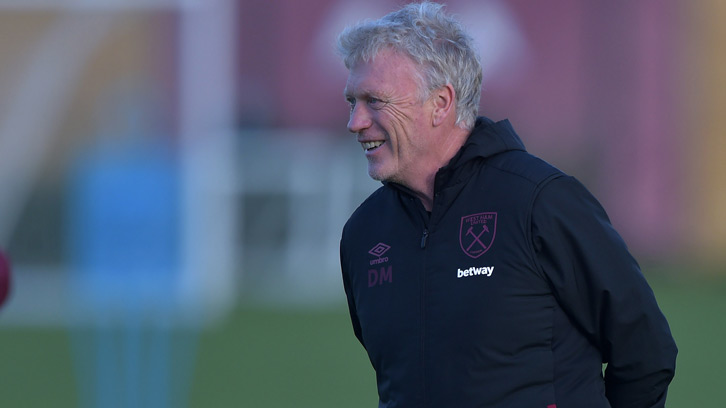 Moyes: Strong Hammers squad set for Stockport