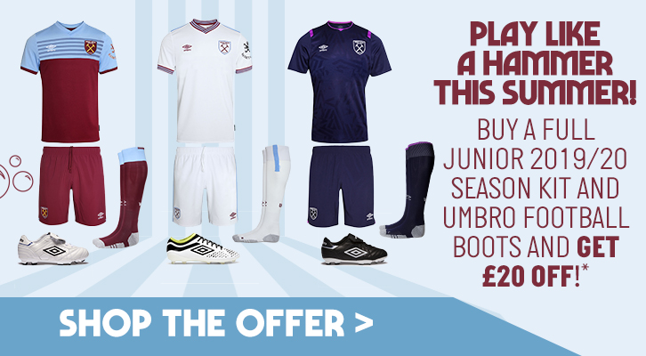 online retailer 3d0a3 b5efb Save £20 with our Junior kit offer! | West Ham United