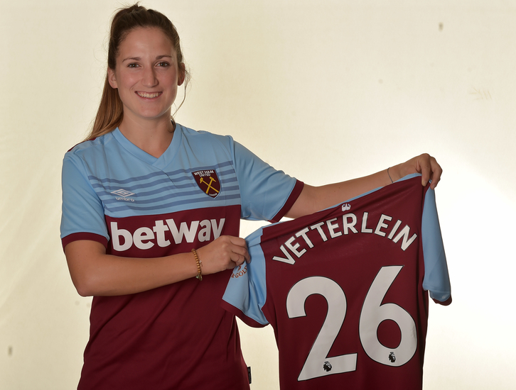 Laura Vetterlein signs for West Ham United
