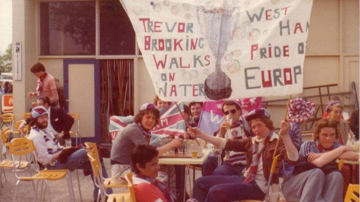 Any Old Irons in Brussels in 1976