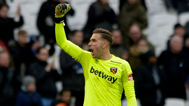 Adrian has already helped West Ham United to wins over Chelsea and Tottenham Hotspur this season