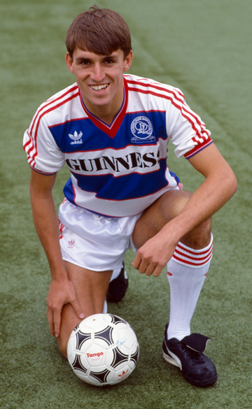 Martin Allen with Queens Park Rangers in 1985