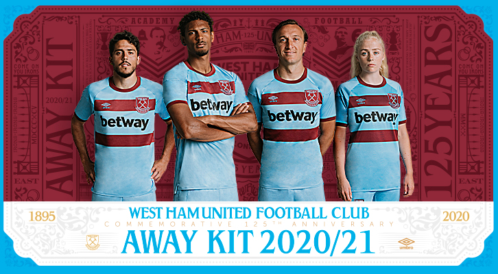 125th anniversary Away kit