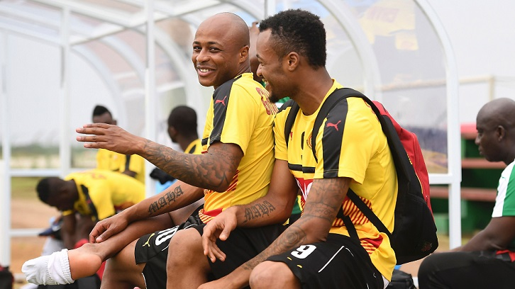 cuchara etc. apodo  Andre Ayew hungry for victory over brother Jordan | West Ham United