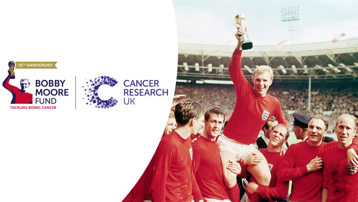 Bobby Moore Fund continuing the fight against cancer