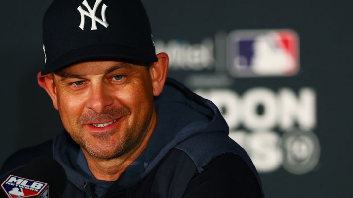 New York Yankees manager Aaron Boone and his players loved London Stadium