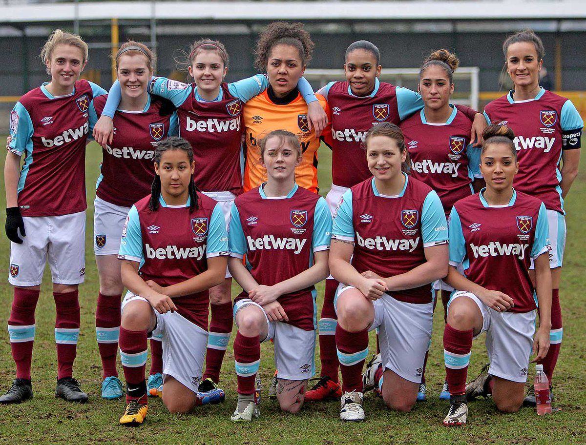 West Ham United Ladies denied second league victory of the season by late  Portsmouth equaliser ... 20e591220