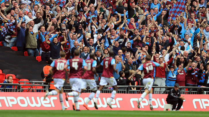 Carlton Cole's 2012 Play-Off final goal was one of 68 he scored for West Ham United