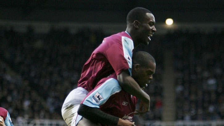 Carlton Cole and Marlon Harewood