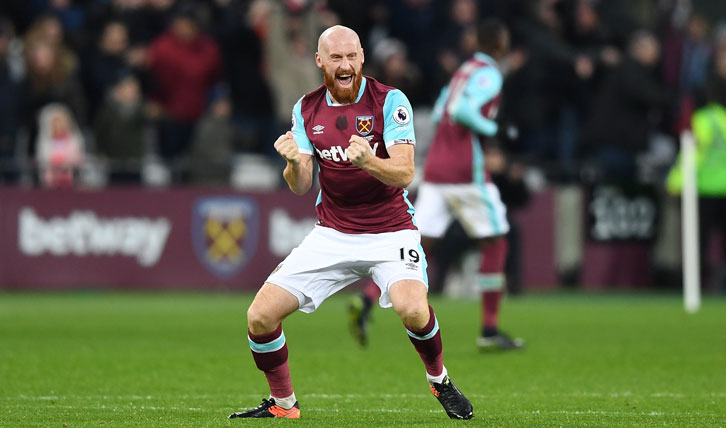 The Ginger Pele always gave his all to the Claret and Blue cause
