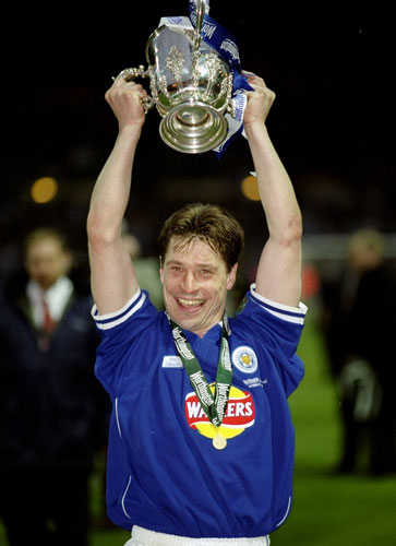 Tony Cottee won the League Cup with Leicester City in 2000