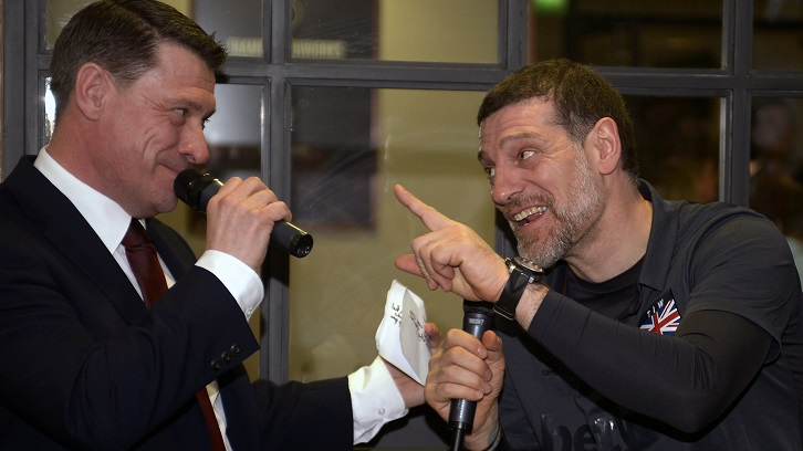 Tony Cottee and Slaven Bilic
