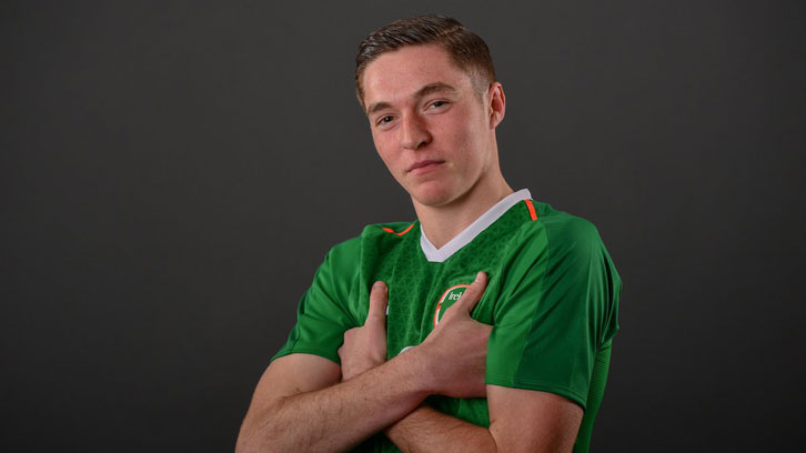 Conor Coventry in Ireland colours