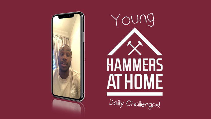 Young Hammers at Home Daily Challenges