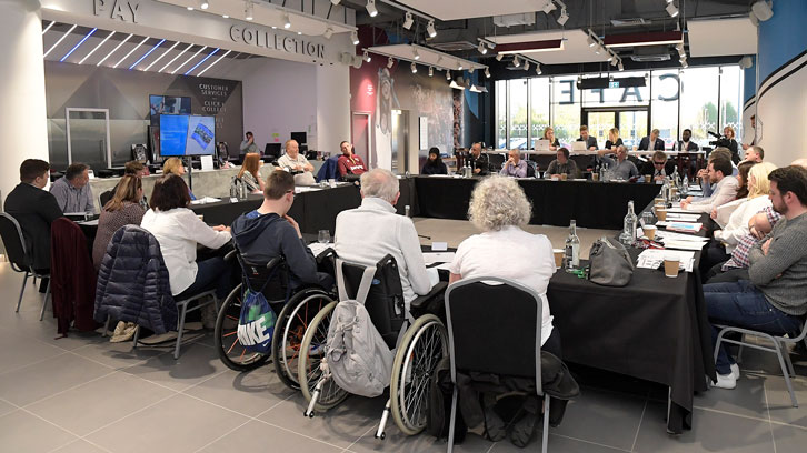 The Disabled Supporters' Board held three meetings during the 2018/19 season