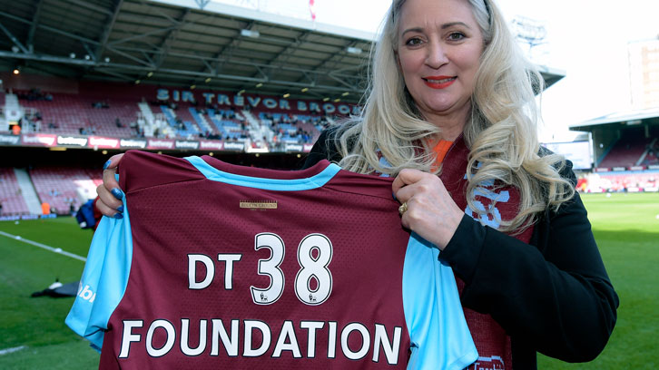 Tracy Tombides founded DT38 Foundation following Dylan's untimely death in 2014