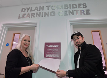 Dylan Tombides Learning Centre unveiled