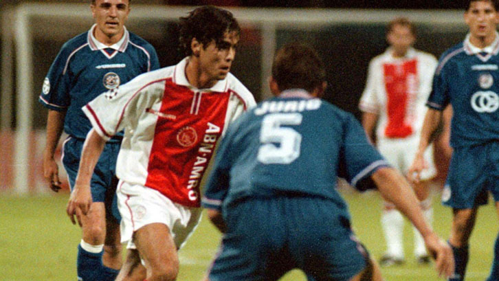 Dani in action for Ajax