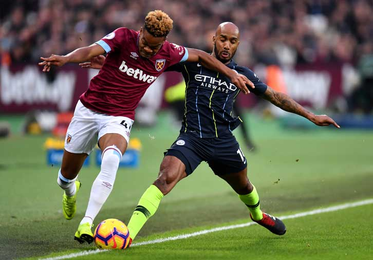 Hammers Unable To Stop Premier League Leaders Man City West Ham United