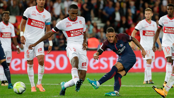 The defender has come up against the likes of Brazil star Neymar in Ligue 1