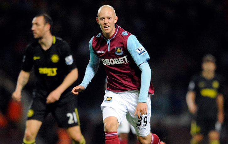 Dylan Tombides in action on his debut
