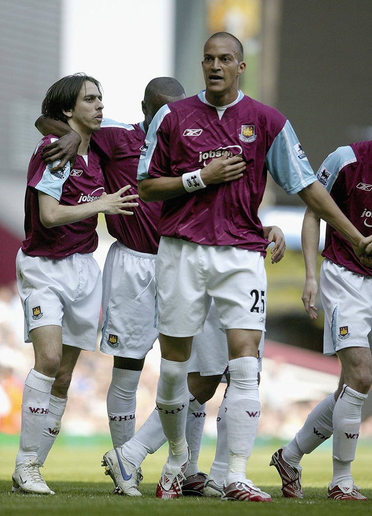 Bobby Zamora was West Ham United's match-winner against Everton in May 2007