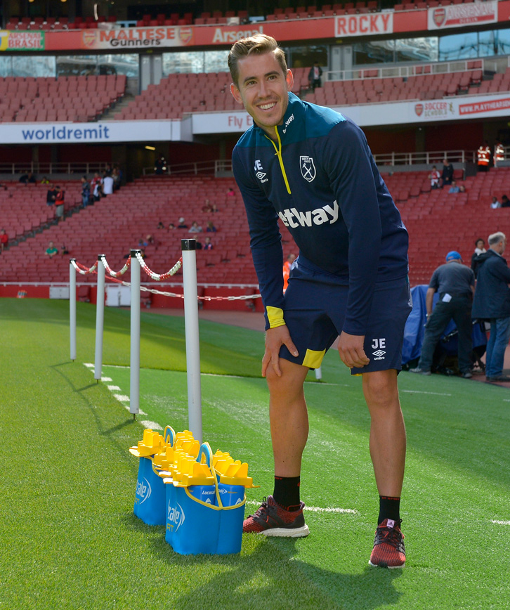Josh Ewens prepares for an away match at Arsenal