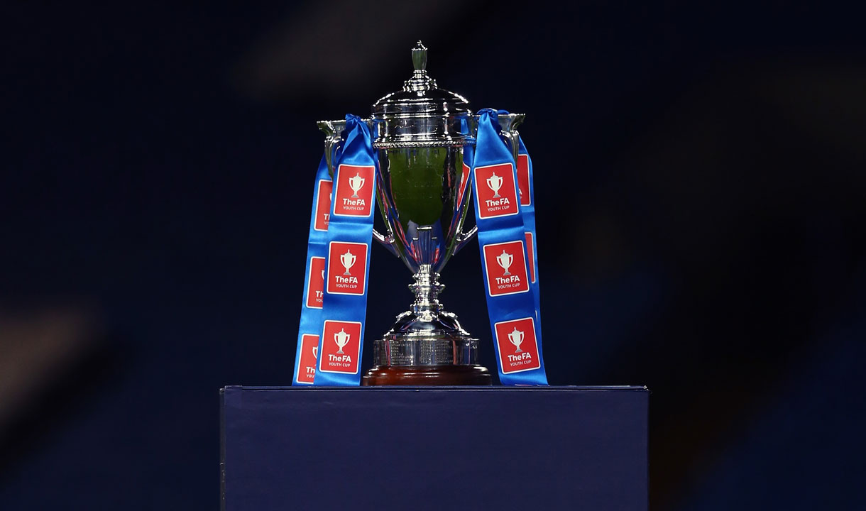 The FA Youth Cup trophy