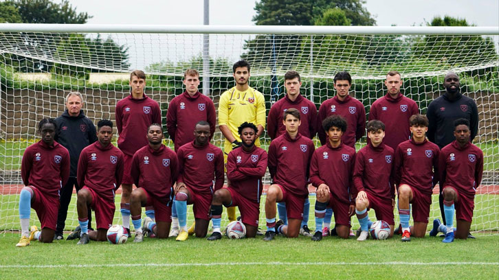 The West Ham United Foundation 'Blues' team