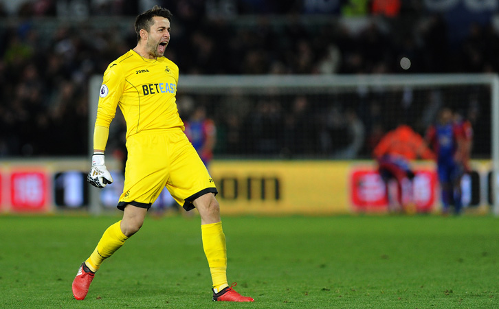 Lukasz Fabianski excelled during four seasons at Swansea City