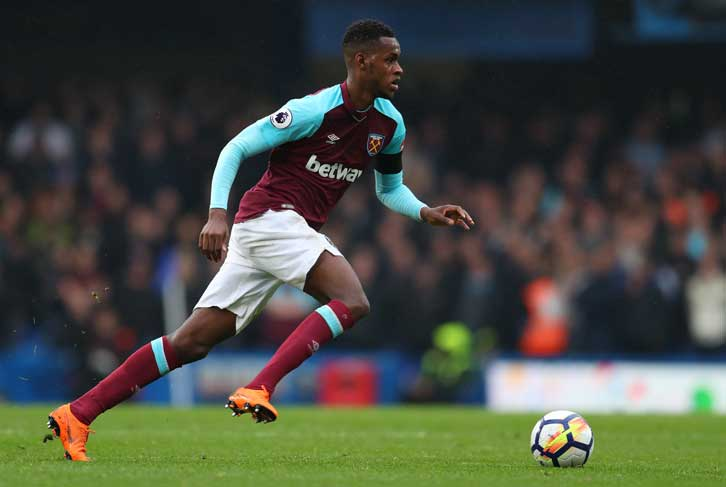 Edimilson Fernandes in possession