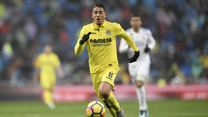 Pablo Fornals in action against Real Madrid