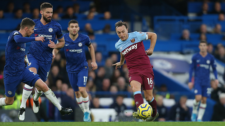Noble retains possession at Stamford Bridge