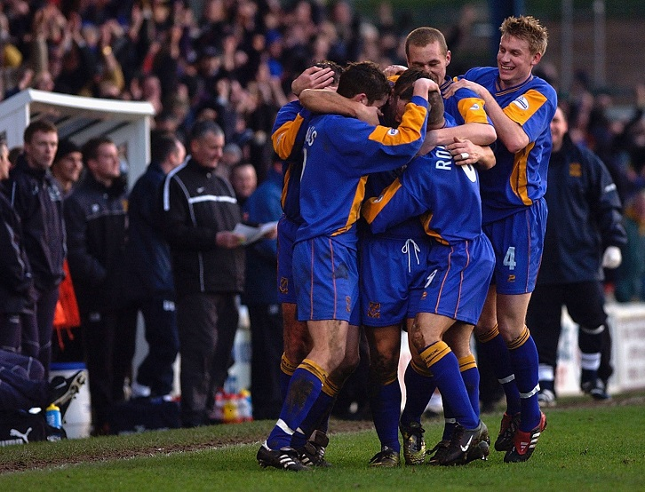 Shrewsbury Town overcame David Moyes' Everton in the FA Cup third round back in January 2003