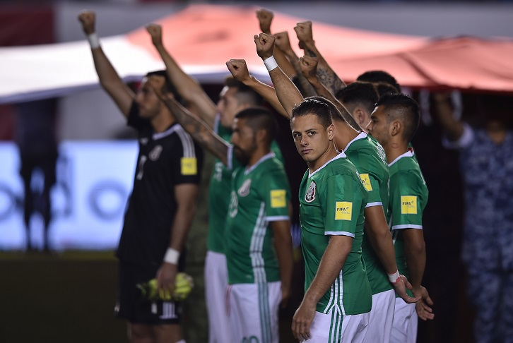 Chicharito and Mexico pay tribute to victims of the 19 September earthquake