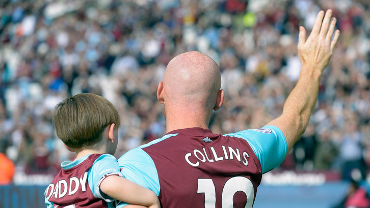 James Collins departs