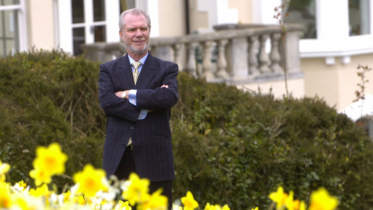 David Gold will host two Garden Open Days at his Surrey home in April