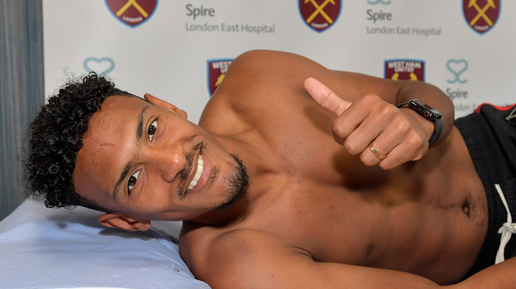 Record signing Sebastien Haller is happy to be a Hammer