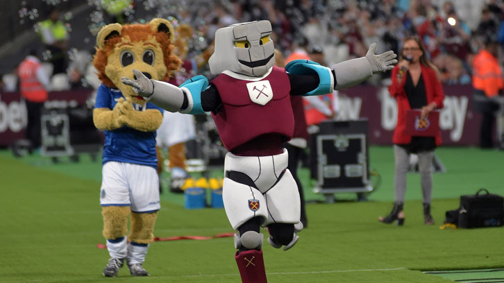 Hammerhead has a mixed record in the Mascot Race