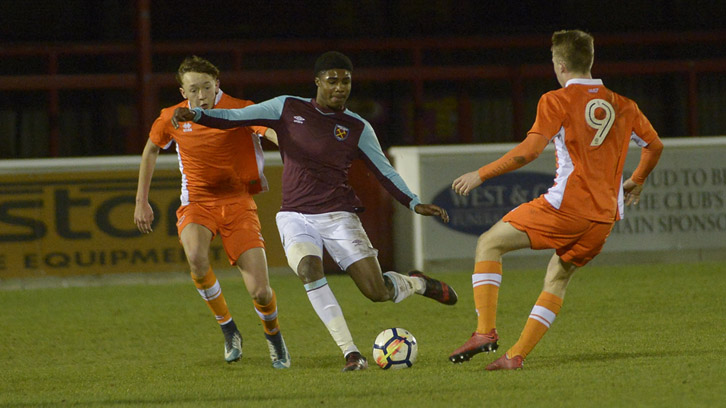 Hammers exit Youth Cup at third round stage