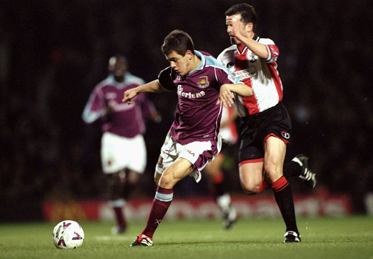 Joe Cole in action against Southampton