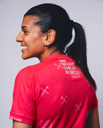 West Ham United women release new pink shirt in support of Breast Cancer Now
